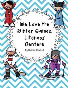 Kindergarten Winter Games Literacy Center Fun!