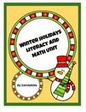 Winter Holiday Literacy and Math Unit