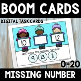 Kindergarten Winter Math Boom Cards -  Distance Learning -