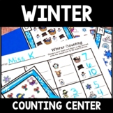 Kindergarten Winter Math Center - Winter Counting