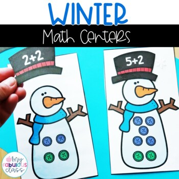 Kindergarten Winter Math Centers