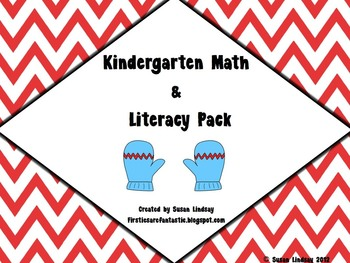 Kindergarten Winter Math & Literacy Centers