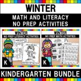 Winter Activities Bundle (Kindergarten) (Distance Learning)