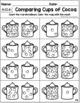 Kindergarten Winter Math Packet - Common Core Aligned!