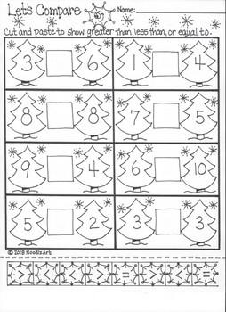 kindergarten winter math worksheets by noodlzart  tpt