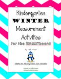 Kindergarten Winter Measurement SMARTboard Activities