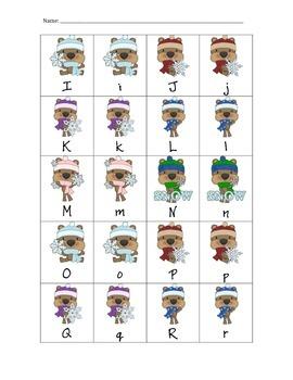 Kindergarten Winter Packet