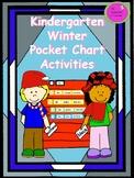 Kindergarten Winter Pocket Chart Activities