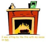 Kindergarten Winter Poem with CVC Center Activity / Picture-match.