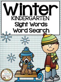 Sight Words-Kindergarten