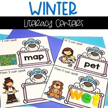 Kindergarten Winter Word Work