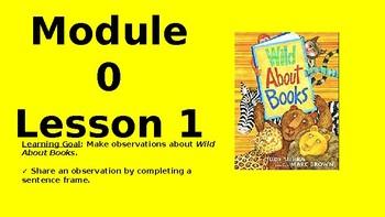 Kindergarten Wit and Wisdom Module 0 Lesson 1