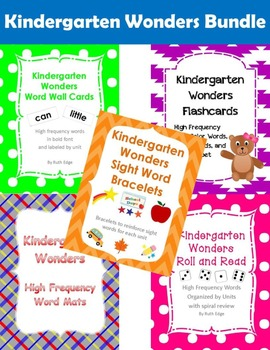 Kindergarten Wonders Bundle