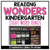 Kindergarten Wonders High-Frequency Word Rings