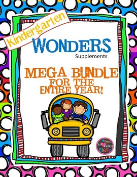 Kindergarten Wonders Mega Bundle for the Entire Year!