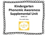 "Kindergarten ""Wonders"" Phonemic Awareness & Phonics Companion Guide: Units 1-3"
