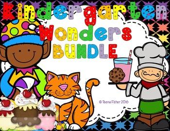 Kindergarten Wonders Phonics BUNDLE pack includes Start Smart