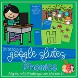 Kindergarten Wonders Interactive Google Slides Phonics Bundle