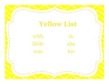 Kindergarten Wonders Rainbow Sight Words