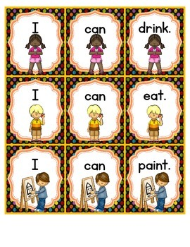 Kindergarten Wonders Reading Can Do Sentences Sight Word Start Smart