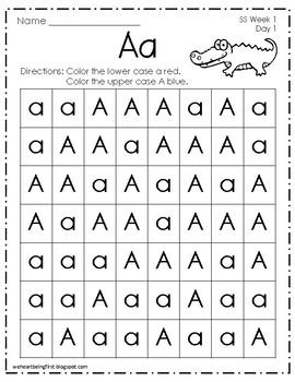 Kindergarten Wonders (2014) Reading Supplement  Start Smart  Weeks 1-3