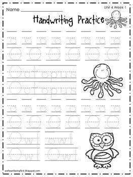 Kindergarten Wonders Reading Supplement ~ Unit 4 Bundle