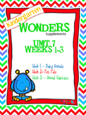 Kindergarten Wonders Reading Supplement ~ Unit 7 Bundle