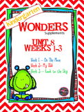 Kindergarten Wonders Reading Supplement ~ Unit 8 Bundle