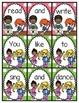 Kindergarten Wonders Reading Unit 4 Sight Word Scrambled Sentences