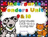 Kindergarten Wonders Reading Unit 9 & 10 Phonics Pack Long Vowels CVCe & /ee/