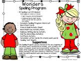 Kindergarten Wonders Spelling Program