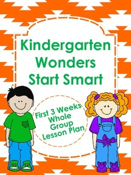 Kindergarten Wonders Start Smart Lesson Plans
