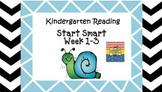 Kindergarten Wonders Start Smart Week 1-3 (Bundled)