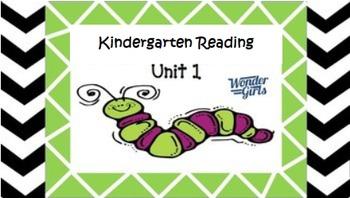 Kindergarten Unit 1 (Bundled)
