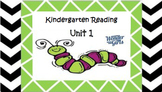 Kindergarten Wonders Unit 1 (Bundled)