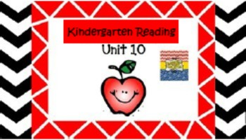 Kindergarten Wonders Unit 10 (Bundled)