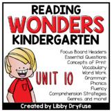 Kindergarten Wonders Unit 10