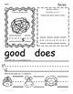 Kindergarten Wonders Unit 10 Homework Packet