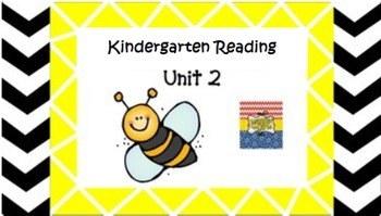 Kindergarten Wonders Unit 2 (Bundled)