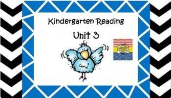 Kindergarten Wonders Unit 3 (Bundled)