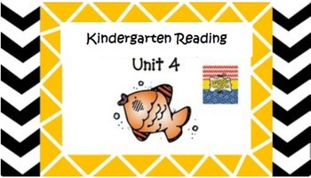Kindergarten Wonders Unit 4 (Bundled)
