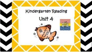 Kindergarten Unit 4 (Bundled)