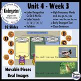 Kindergarten Wonders Unit 4 Week 3 - Google Classroom Distance Learning