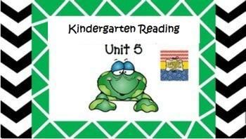 Kindergarten Unit 5 (Bundled)