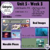 Kindergarten Wonders Unit 5 Week 3 - Google Slides Activities