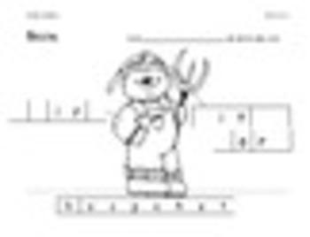 Kindergarten Unit 6 (Bundled)