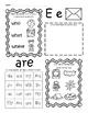Kindergarten Wonders Unit 6 Homework Packet