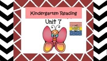 Kindergarten Wonders Unit 7 (Bundled)