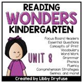 Kindergarten Wonders Unit 8