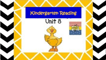 Kindergarten Wonders Unit 8 (Bundled)